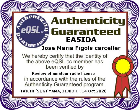 Primary Image for EA5IDA