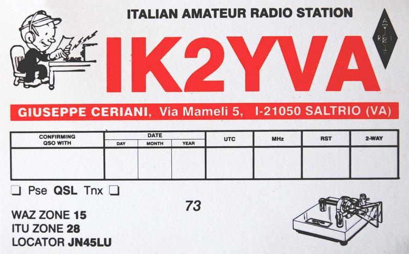 Primary Image for IK2YVA