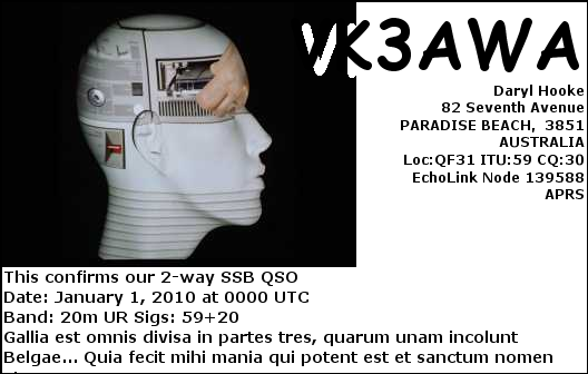 Primary Image for VK3AWA