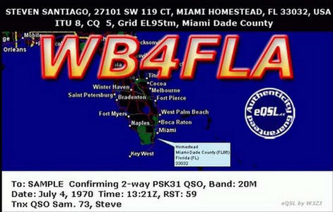 Primary Image for WB4FLA