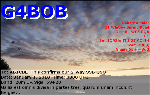 Primary Image for G4BOB