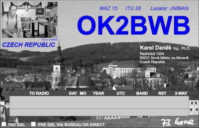 Primary Image for OK2BWB