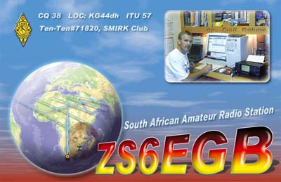 Primary Image for ZS6EGB