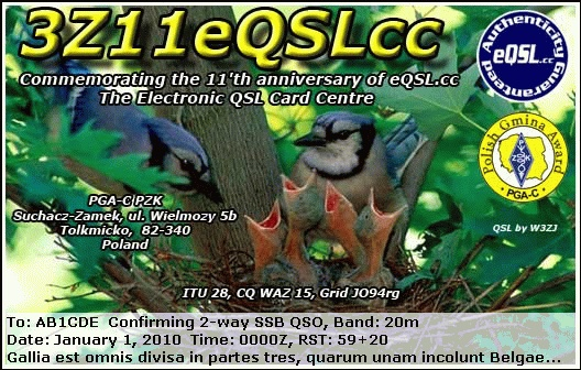 Primary Image for 3Z11EQSLCC