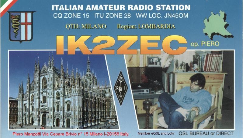 Primary Image for IK2ZEC