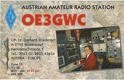 Primary Image for OE3GWC