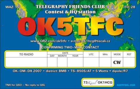 Primary Image for OK5TFC