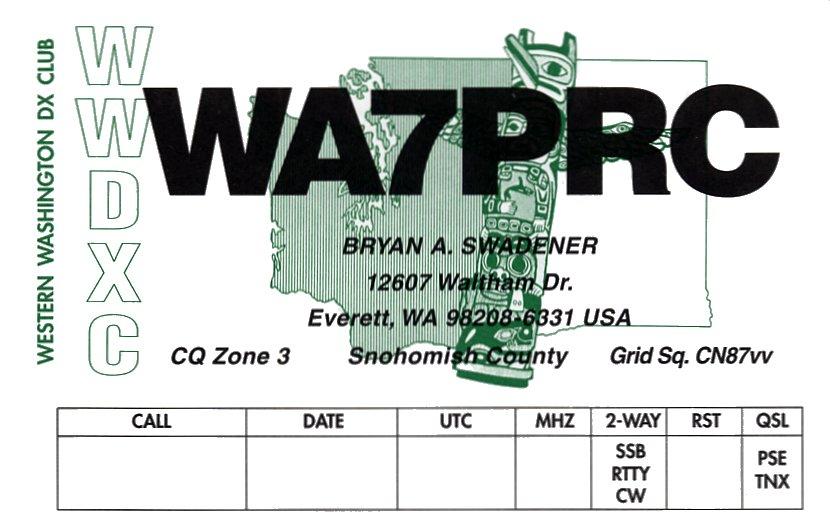 Primary Image for WA7PRC