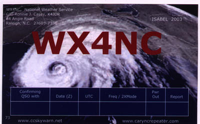 Primary Image for WX4NC