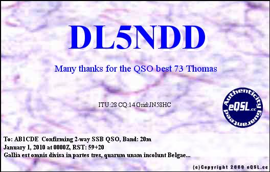 Primary Image for DL5NDD