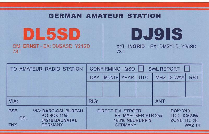 Primary Image for DL5SD