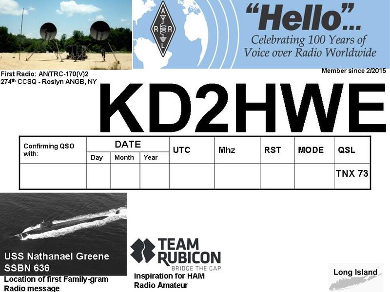 Primary Image for KD2HWE