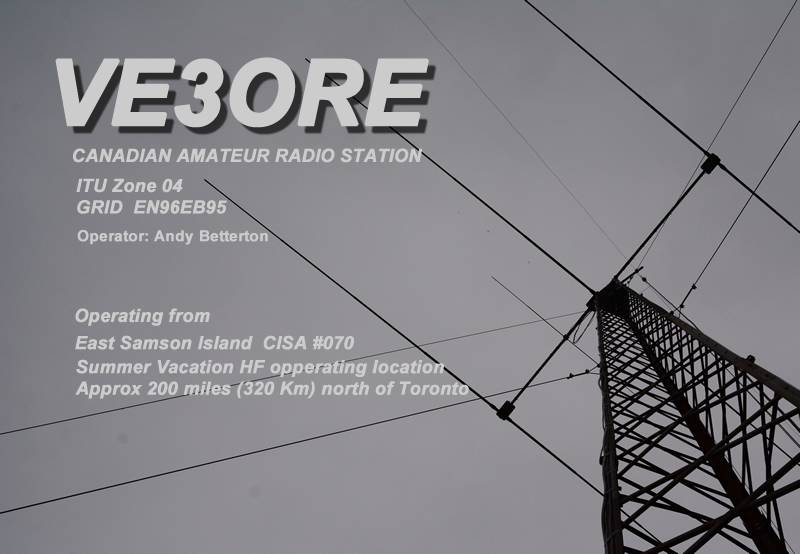 Primary Image for VE3ORE