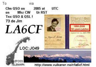Primary Image for LA6CF