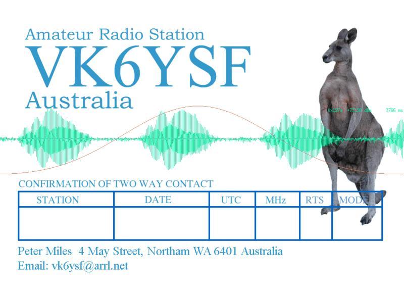 Primary Image for VK6YSF