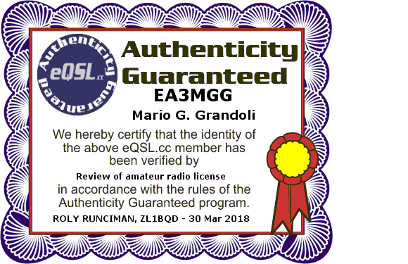 Primary Image for EA3MGG