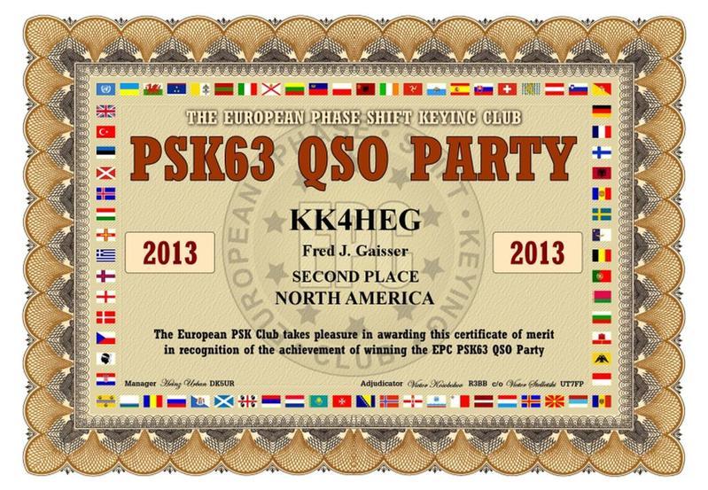 Primary Image for KK4HEG
