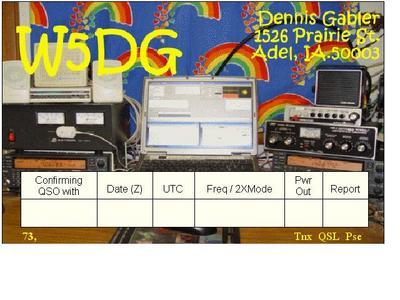 Primary Image for W5DG