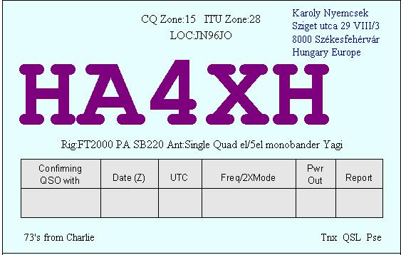 Primary Image for HA4XH