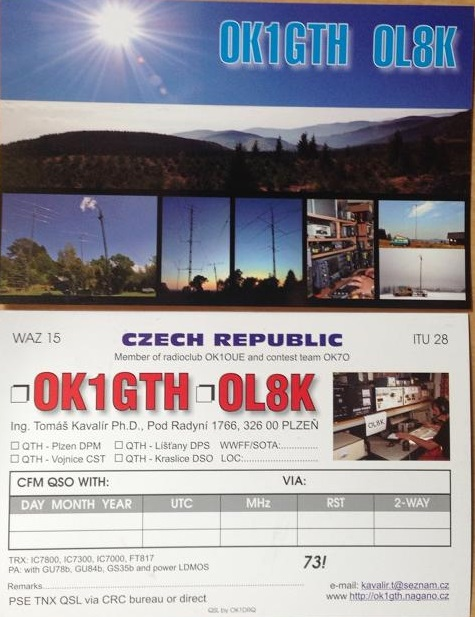 Primary Image for OK1GTH