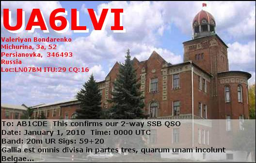 Primary Image for UA6LVI