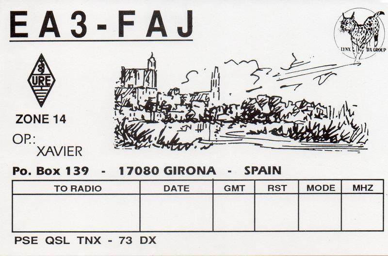 Primary Image for EA3FAJ