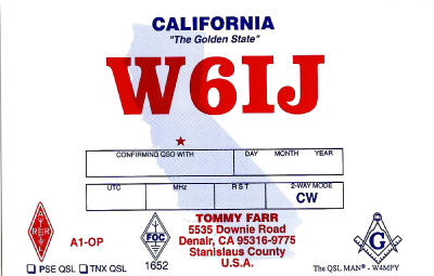 Primary Image for W6IJ