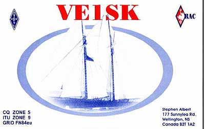 Primary Image for VE1SK