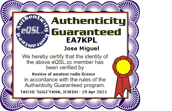 Primary Image for EA7KPL
