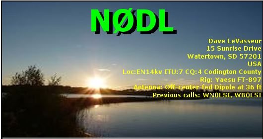 Primary Image for N0DL