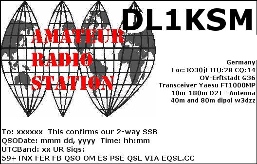 Primary Image for DL1KSM