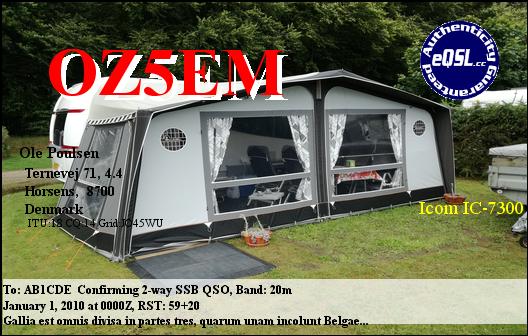 Primary Image for OZ5EM