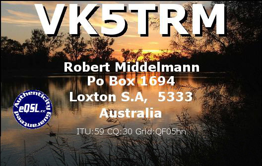 Primary Image for VK5TRM