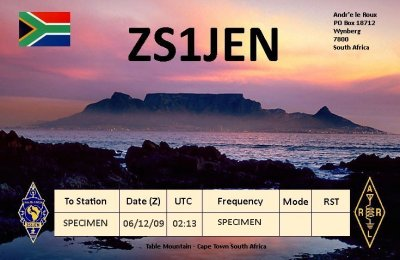 Primary Image for ZS1JEN
