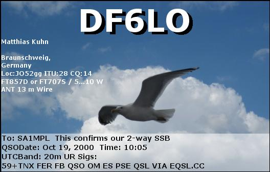 Primary Image for DF6LO