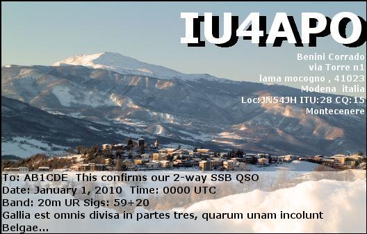 Primary Image for IU4APO
