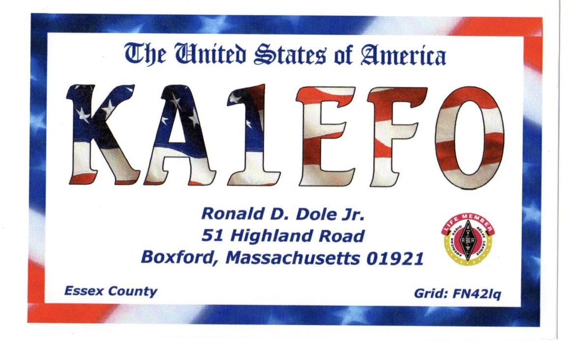 Primary Image for KA1EFO