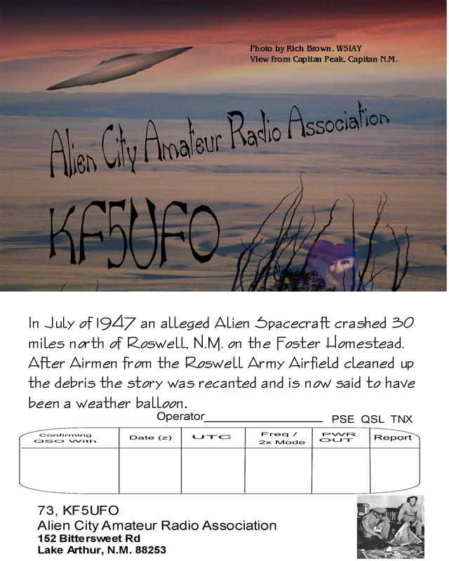 Primary Image for KF5UFO