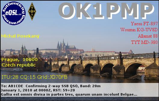 Primary Image for OK1PMP