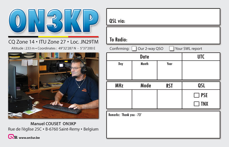 Primary Image for ON3KP