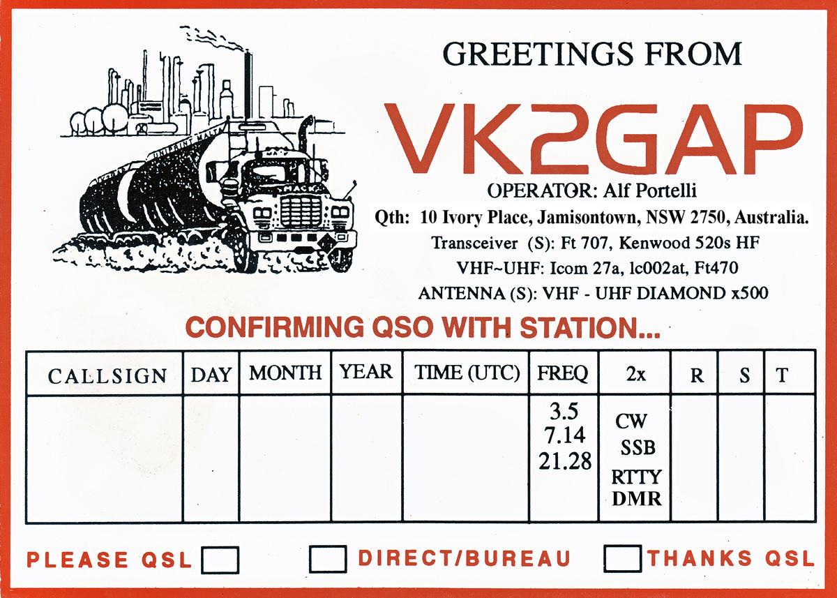 Primary Image for VK2GAP