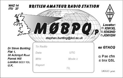 Primary Image for M0BPQ