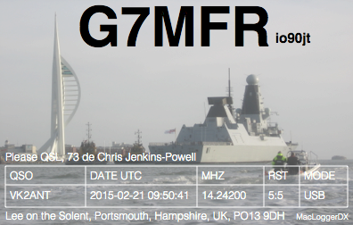 Primary Image for G7MFR