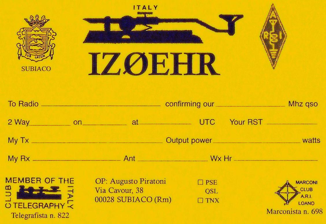 Primary Image for IZ0EHR
