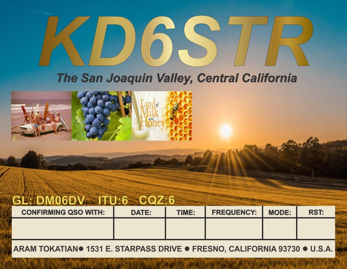 Primary Image for KD6STR