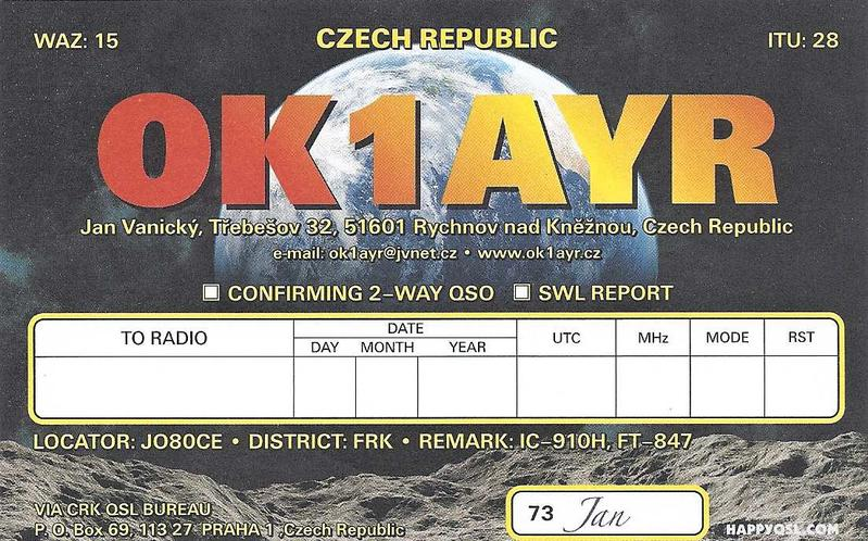 Primary Image for OK1AYR