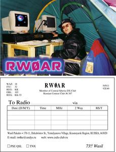Primary Image for RW0AR