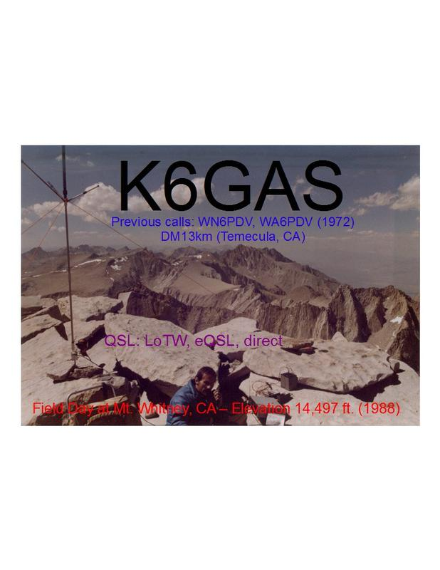 Primary Image for K6GAS