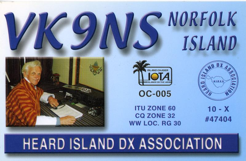 Primary Image for VK9NS