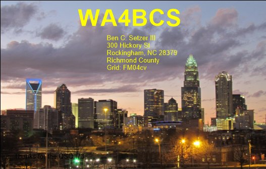 Primary Image for WA4BCS